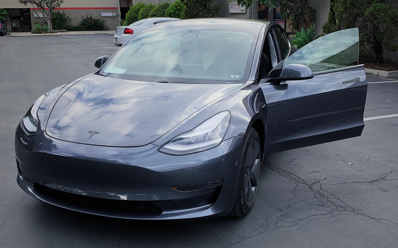 tesla-model-3-dechromed-in-parking-lot